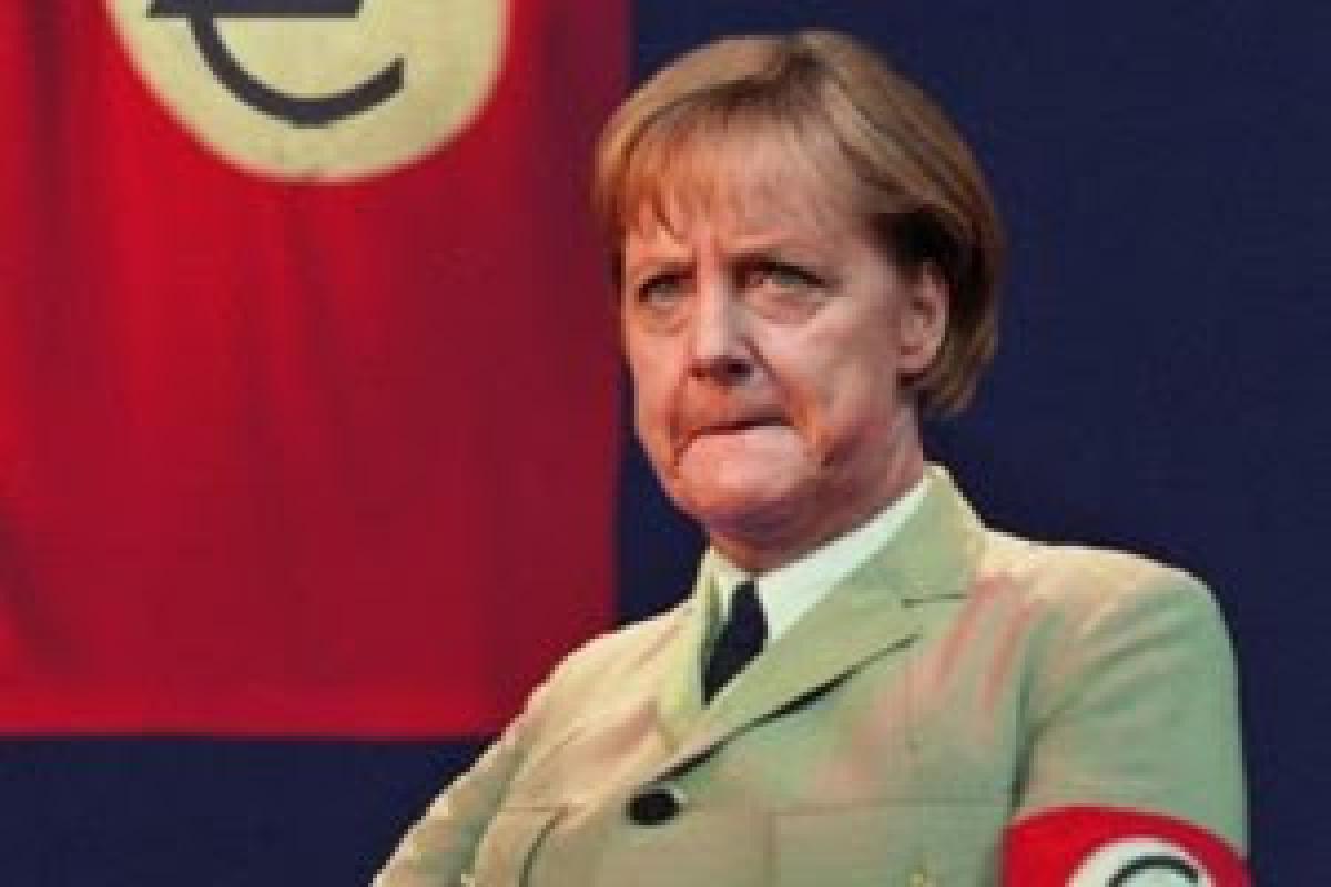 Toliau tapomas Angelos Merkel portretas